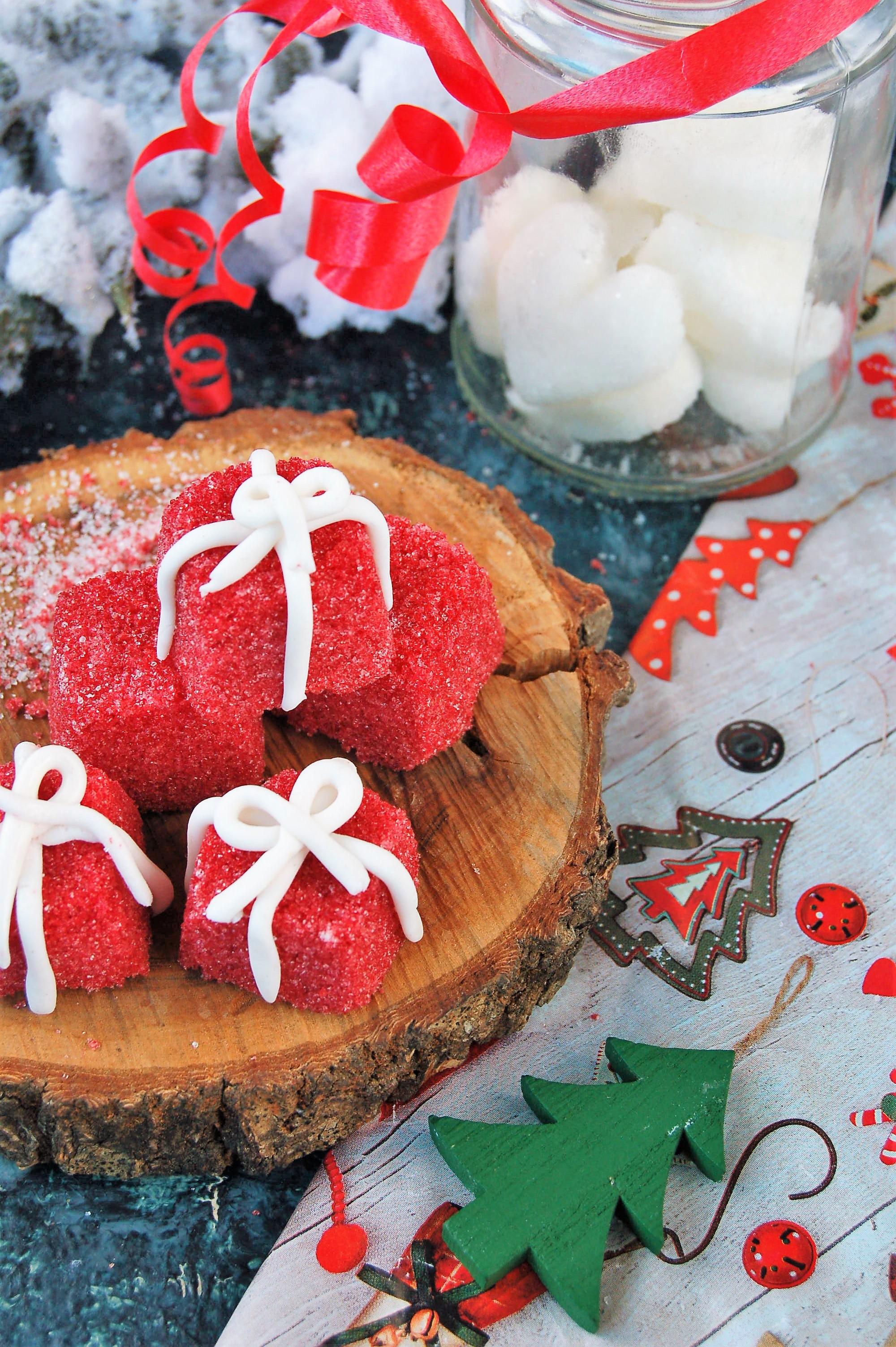 Zollette di zucchero colorato da regalare