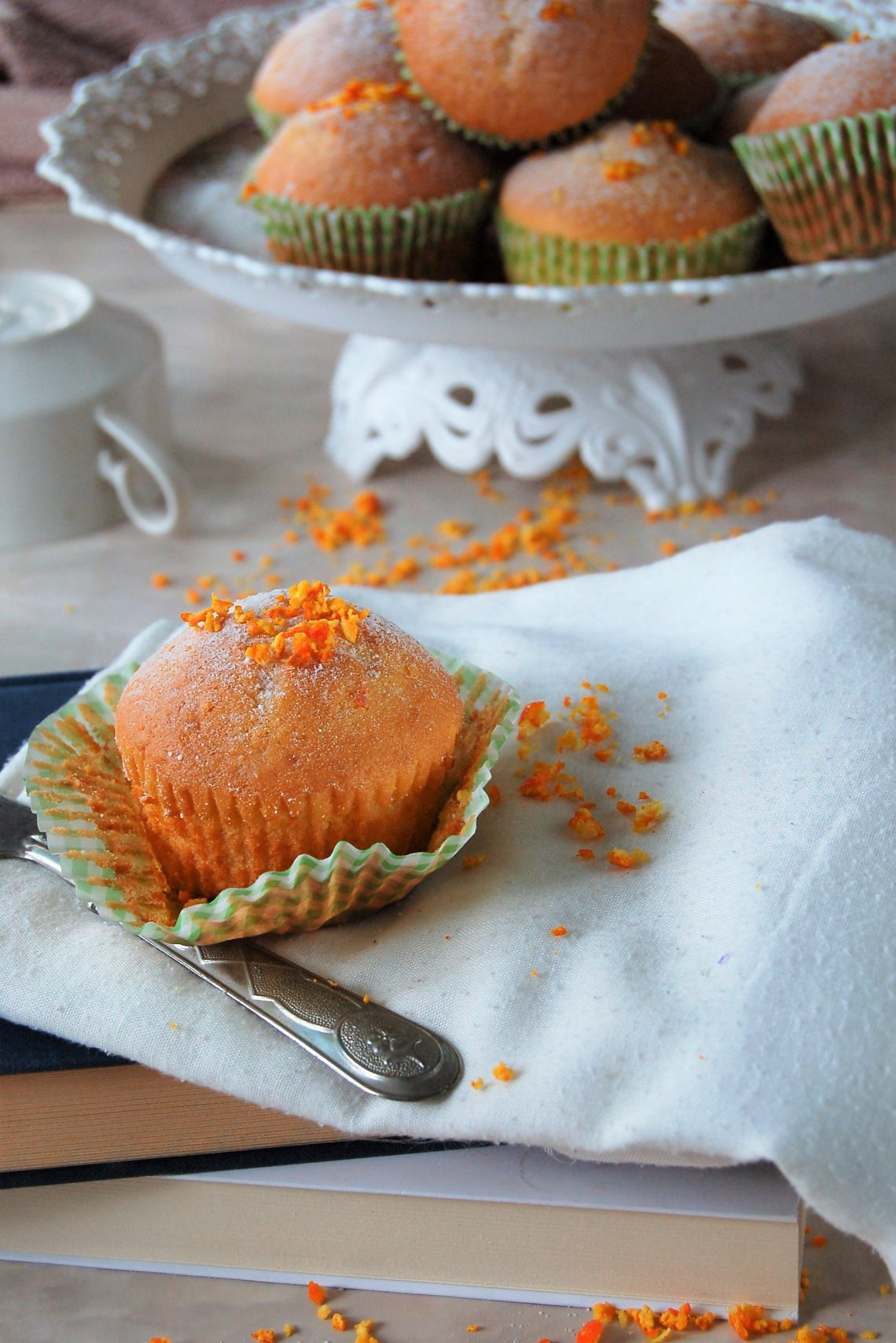 Muffin alle clementine senza lattosio