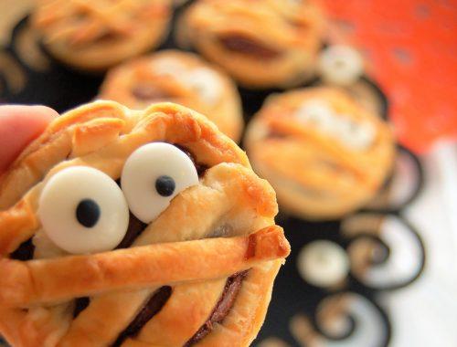 Mummie di Pasta Sfoglia e Nutella
