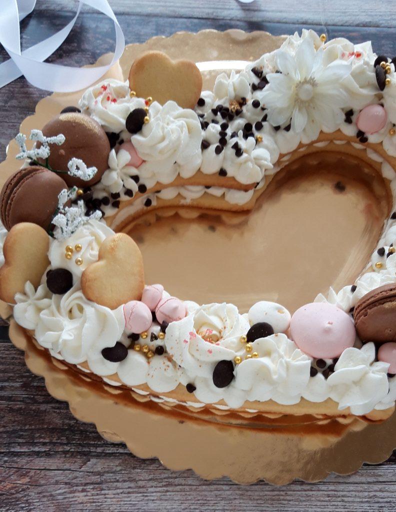 Cuore di Cream Tart